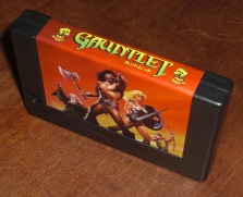 Gauntlet MSX2 cartidge